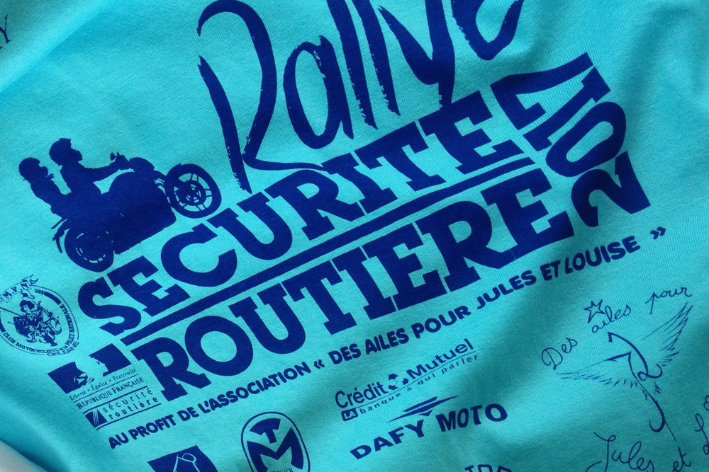 Tee Shirt Securite Routiere